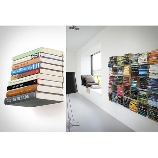 Mensola a scomparsa per libri