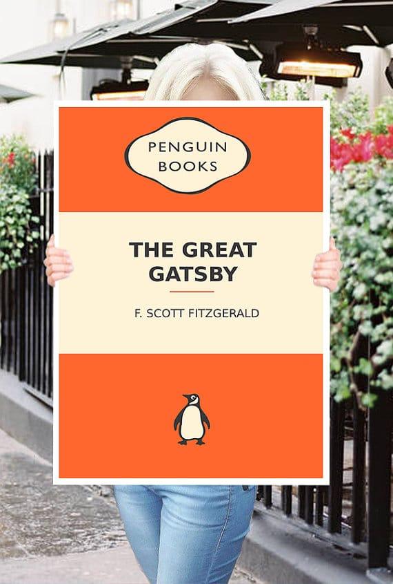 Stampa dell'edizione Penguin del Grande Gatsby.
