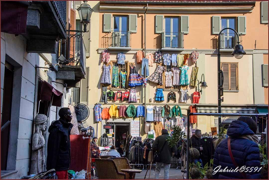 Mercato di Balon - Torino