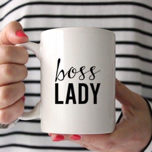 boss-lady mug