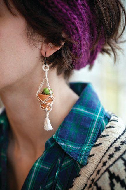 orecchino-con-vaso-pianta