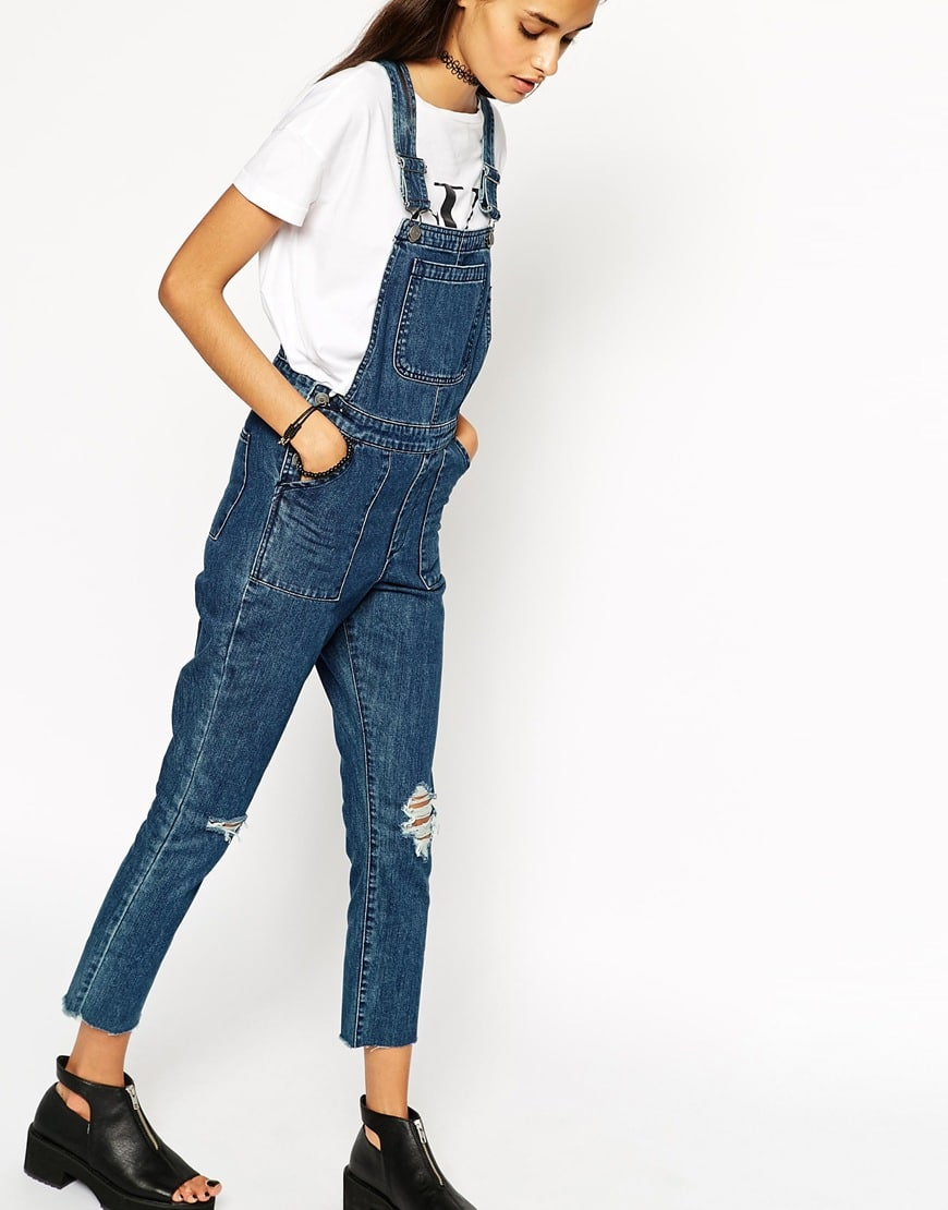 salopette in jeans