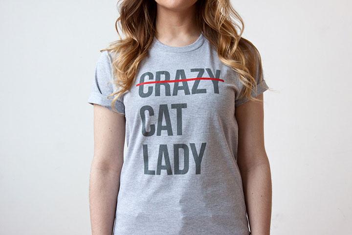 Tshirt per amanti gatti