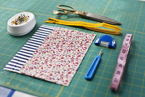 Materiali necessari per creare la borsa