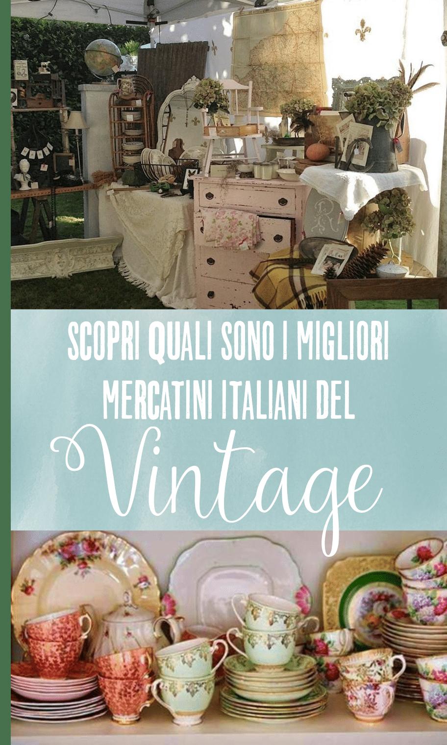 Mercatini italiani del vintage
