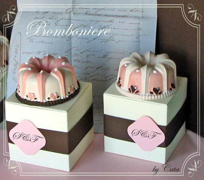 bomboniere gessetto cake