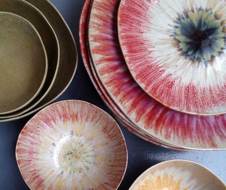 ceramiche-raku-piatti-rossi
