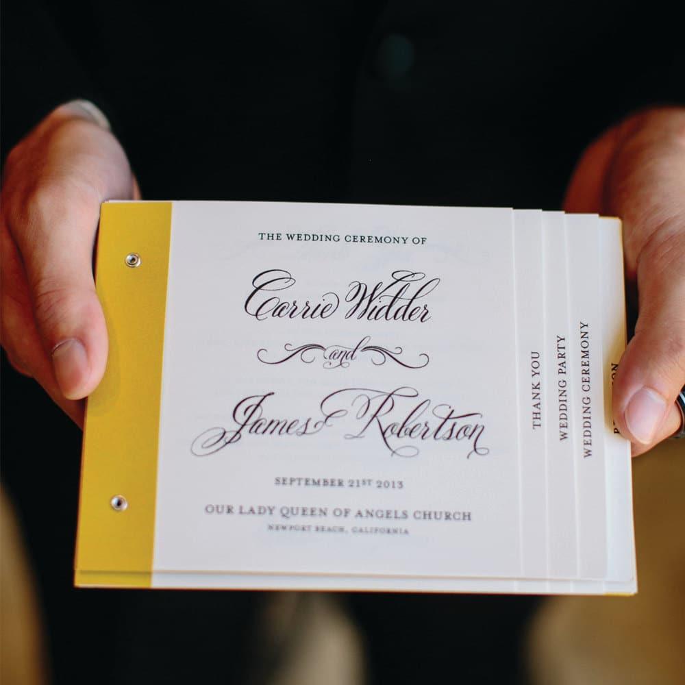Famoso Il libretto messa del tuo matrimonio: qualche idea per renderlo  EH71
