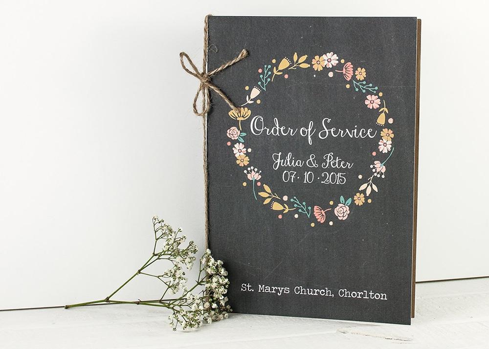 Libretto Messa Matrimonio Country Chic : Il libretto messa del tuo matrimonio qualche idea per