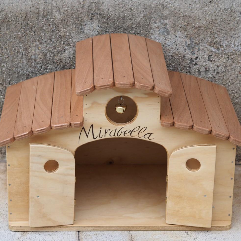 Idee giardino esterno per gatti for Cuccia per cani eurobrico