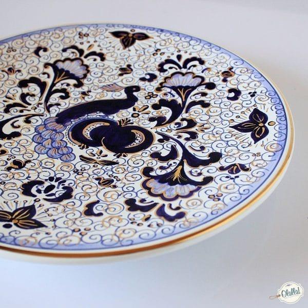 piatto-pavone-oro-ceramica-dipinto-mano421