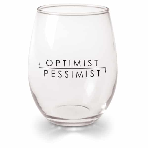 Bicchiere per ottimisti