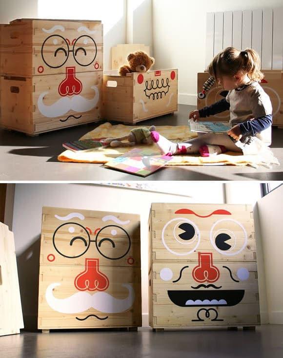 scatole porta giochi