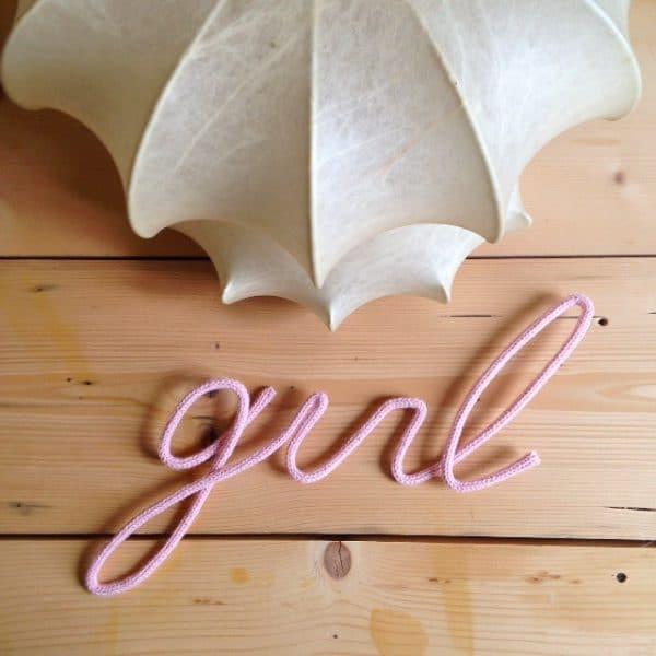 scritta-in-lana-fil-di-ferro girl