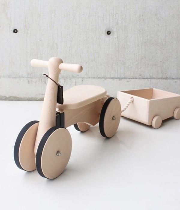 triciclo in legno