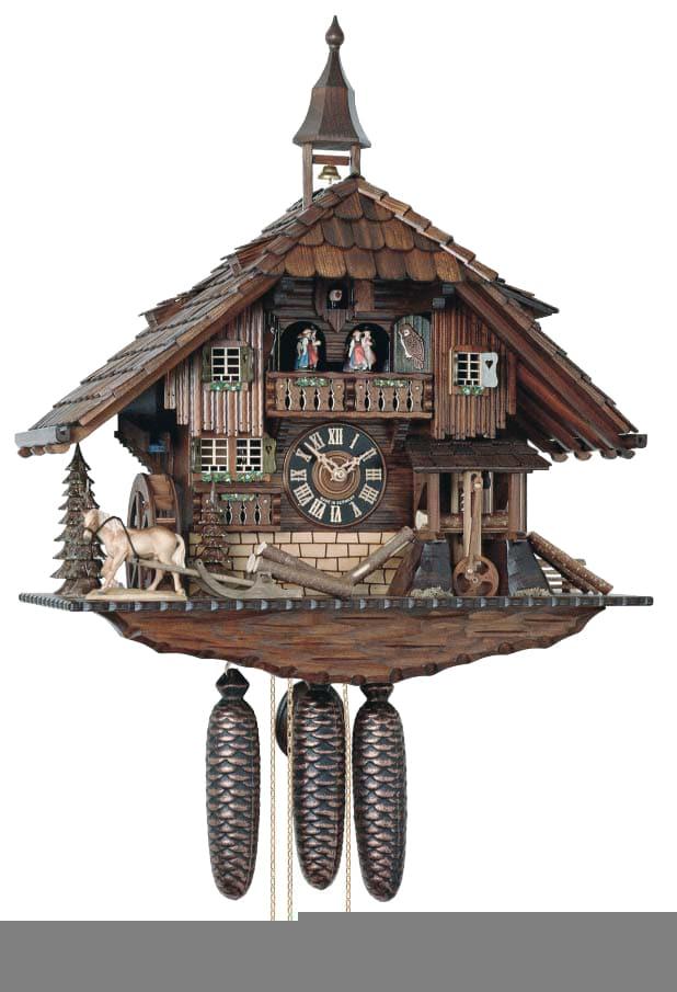 Cucu con carillon in legno dell'Alto Adige