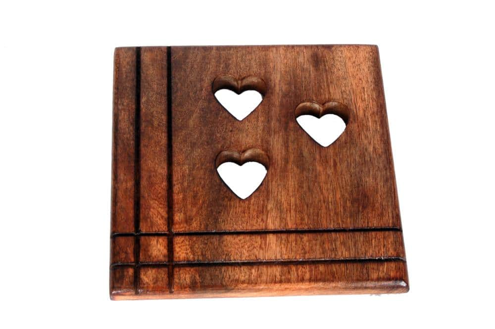 Tavoletta decorativa in legno dell'Alto Adige