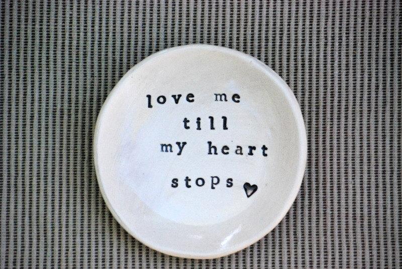 Piattino in ceramica personalizzato