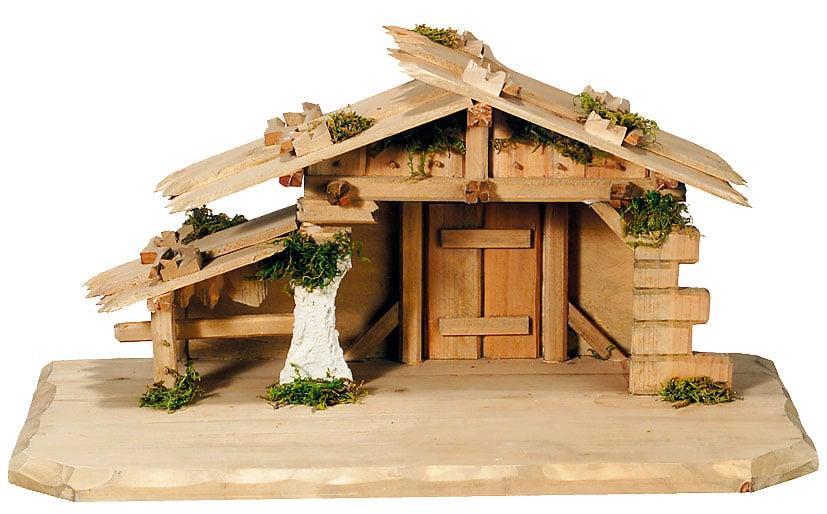 Capanna in legno dell'Alto Adige