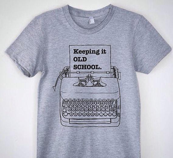 T-shirt con stampa e scritta