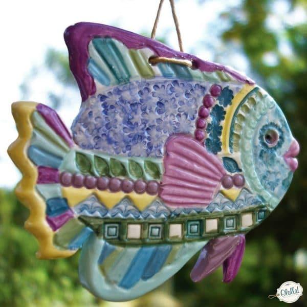 pesciolino-ceramica-pastello-turchese-giallo-rosa