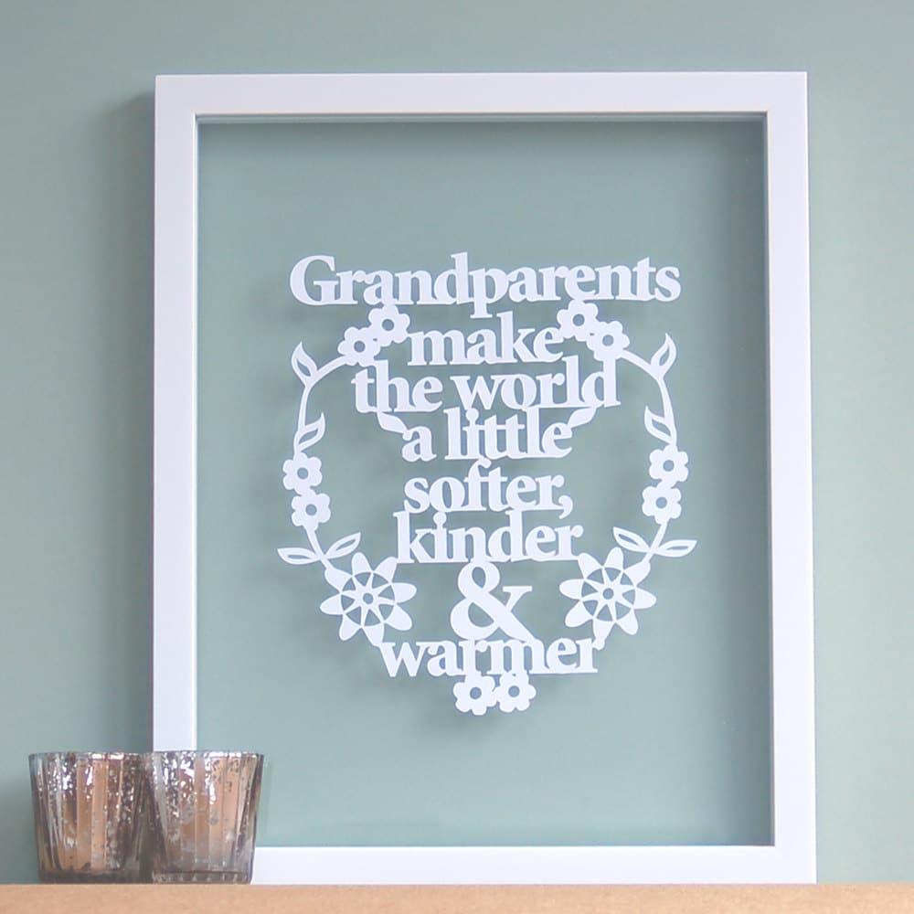 Favorito Idee regalo originali da fare ai tuoi nonni! | Olalla RK03