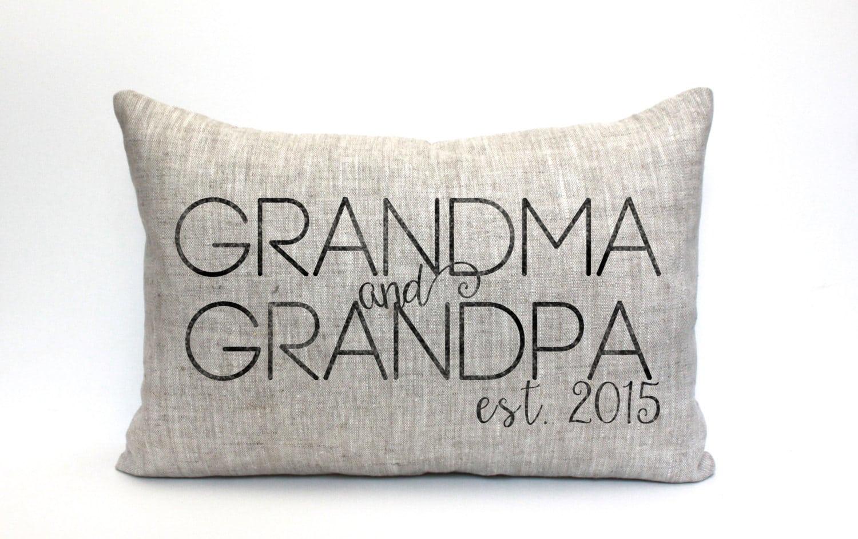 Cuscino per nonni