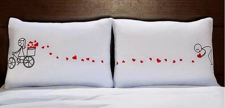 Cuscini per letto matrimoniale