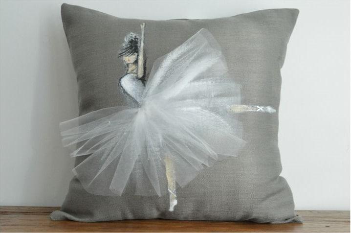cuscino con ballerina