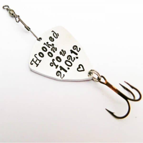 cucchiaino da pesca personalizzato in metallo