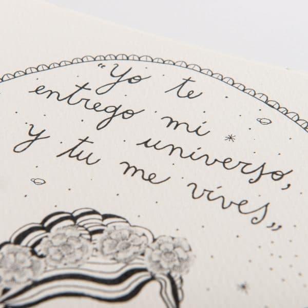 """Yo te entrego mi universo y tu me vìves"""
