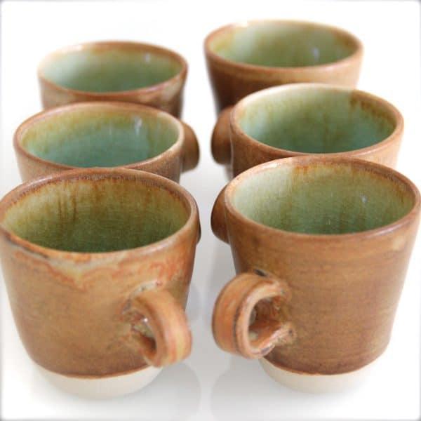 tazzine ceramica fatte a mano stile rustico