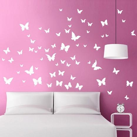 adesivi-murali_Farfalle-in-volo_grande