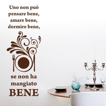 adesivi-murali_per-ristoranti-Mangiare-bene_
