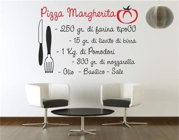 10 adesivi murali per arredare con gusto la tua casa olalla - Wall stickers cucina ...