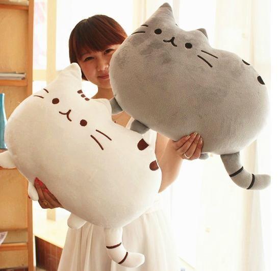 Soffici cuscini a forma di gatto