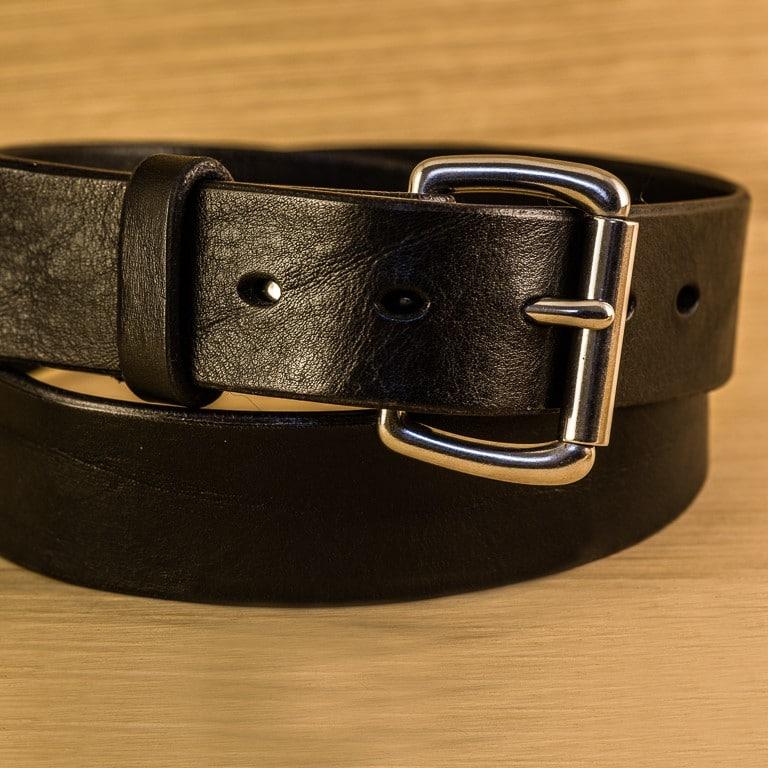 migliore a buon mercato 6a0a6 ade58 Cintura Uomo Vero Cuoio Fatta a Mano Su Misura - Personalizzabile con  Iniziali   Olalla