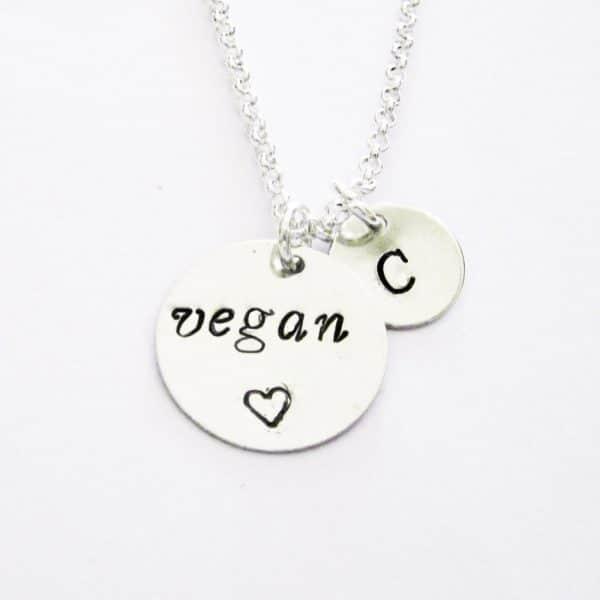 collana vegan personalizzabile in metallo
