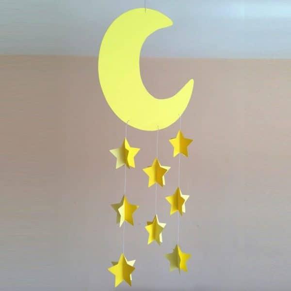decorazione-cameretta-luna-stelline