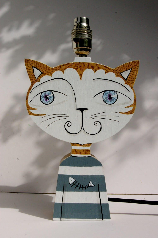 Lampada per cameretta a forma di gatto