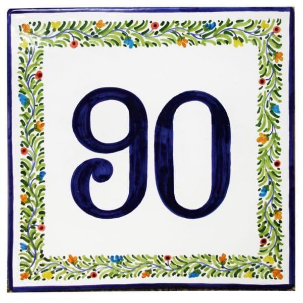 numero-civico-decoro-fiori-corona