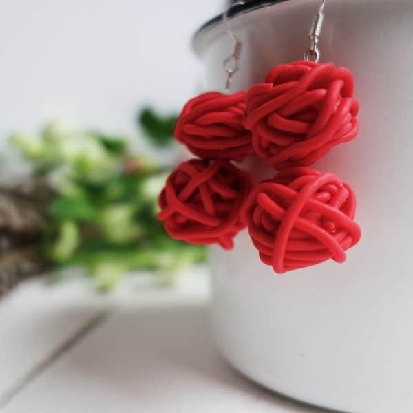orecchini-gomitolo-rossi (4)