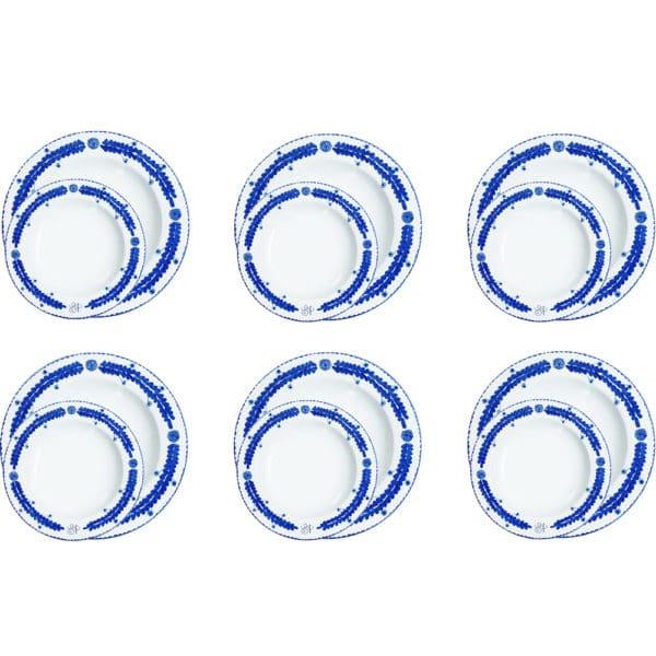 piatti-ceramica-fatti-mano-personalizzati-iniziali-foglia-blu