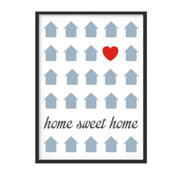 poster-home-sweet-home-grigio