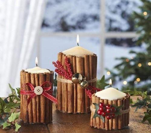 Mini-candele natalizie