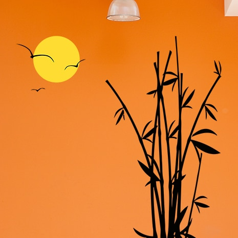 adesivi-murali_Bamboo-tramonto_grande