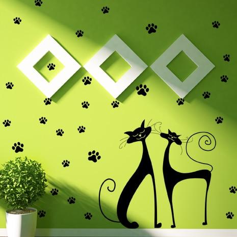 adesivi-murali_Gatti-e-impronte_grande