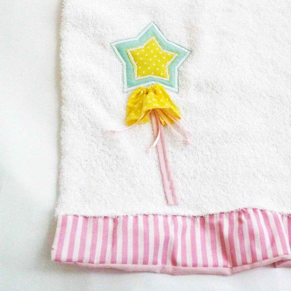 asciugamano-Principessa-scettro-stella