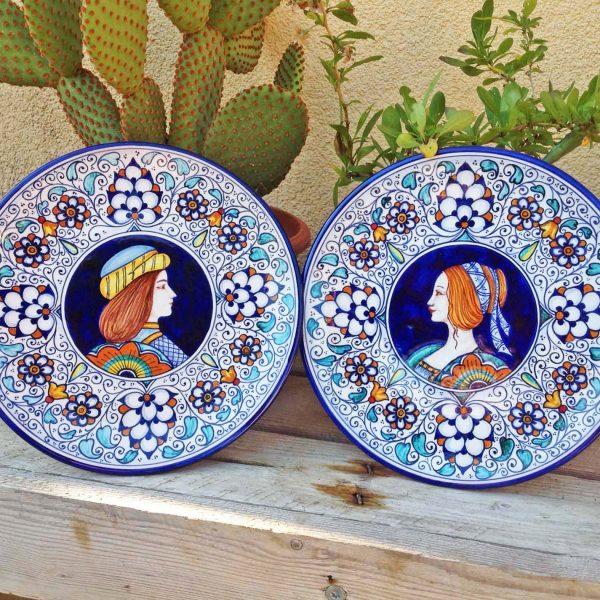 piatti-ceramica-coppia-innamorati-33
