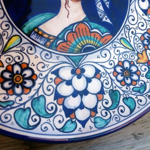 piatto-ceramica-lei-dettaglio